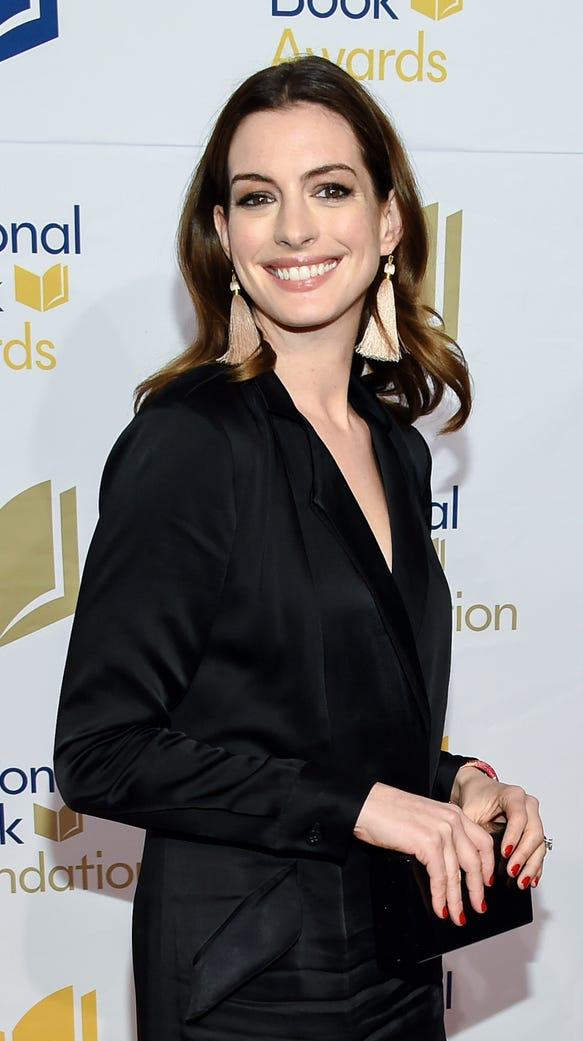 Anne Hathaway put out a message to fat-shamers on Thursday.