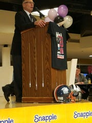 Snapple Bowl founder and game director Marcus Borden