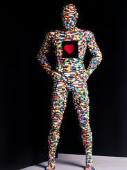 X-Ray by artist Nathan Sawaya.