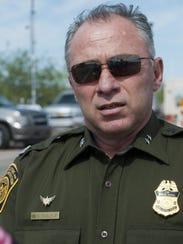 Manuel Padilla, Jefe de la Patrulla Fronteriza Sector