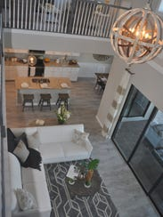 There are four models by Lennar open for viewing at
