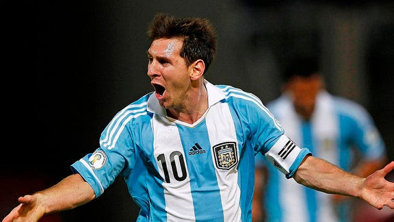 Argentina's Lionel Messi hopes to lead his country to a victory over arch-rivals -- and World Cup hosts -- Brazil