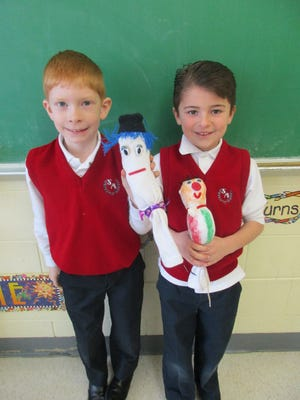 Many of the children made dolls to look just like them, while others used their imaginations to create adorable new doll friends!