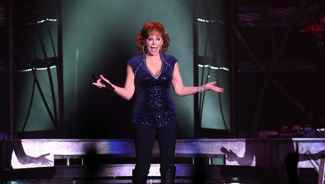 Reba McEntire performs at Freedom Hall during the Kentucky State Fair.