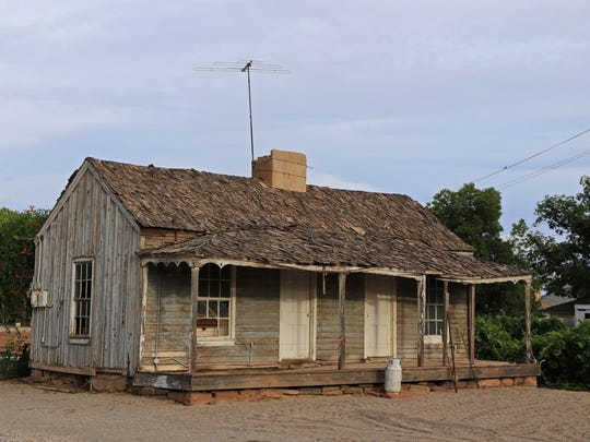 This old home in Santa Clara was once used as a cabin in the mining town of Silver Reef.