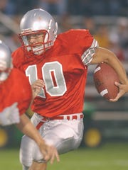 New Lakota coach Mike Lento played football, baseball and basketball at SJCC.