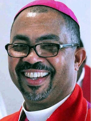 The Rt. Rev. Wendell Gibbs, bishop of the Episcopal Diocese of Michigan, came out in favor of same-sex marriage on March 18, 2014.