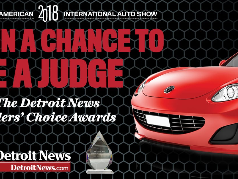 Enter to win! Visit the Auto Show BEFORE it opens to the public and cast your vote to decide which cars are best-in-class.