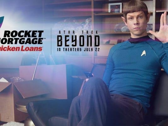 """A Quicken Loans """"Rocket Mortgage"""" ad"""