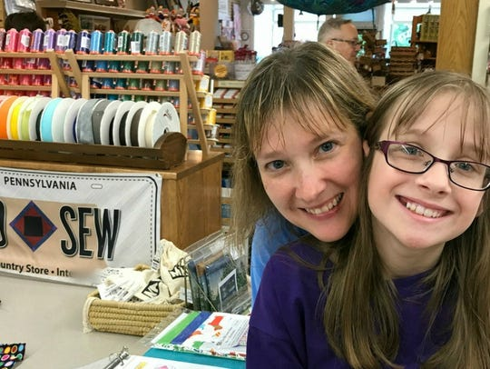 Have fun with family exploring quilt shops this summer.