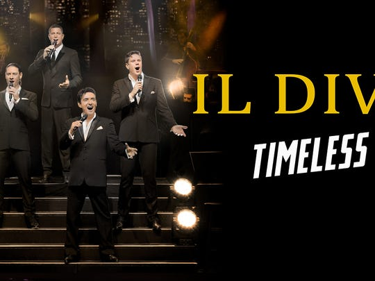 The group IL Divo will perform in December in El Paso.