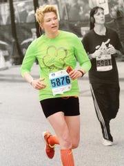 Mile 14: Christina Ellis a public safety officer in