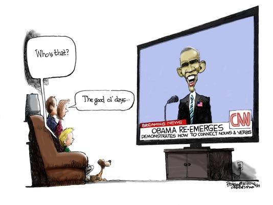 Obama is baaaaack