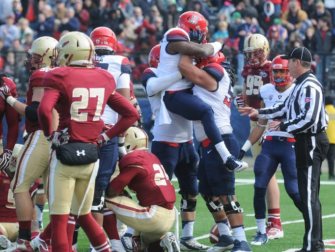 Images from the first half of the 2013 AdvoCare V100 Bowl Jan 31, 2013 at Independence Stadium in Shreveport, La.