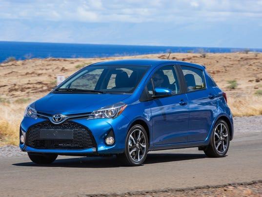 Test Drive 2015 Toyota Yaris Better But Still Lags