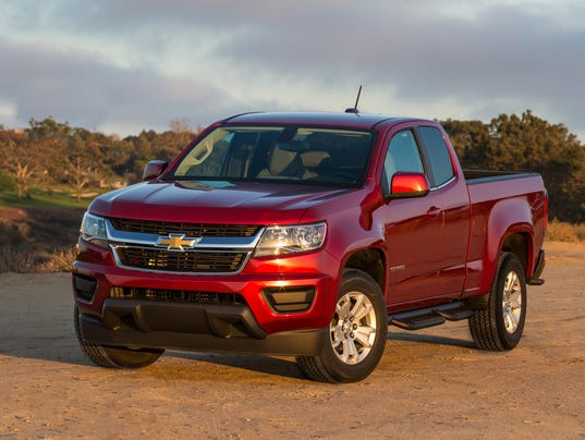 2015 Chevy Colorado Z71 4wd Pickup Challenges The Big Boys
