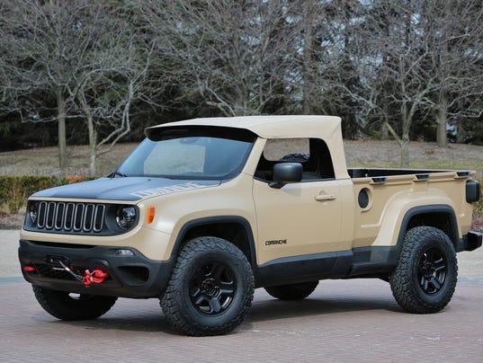 Jeep preps pickups, Hellcat engine for Moab celebration