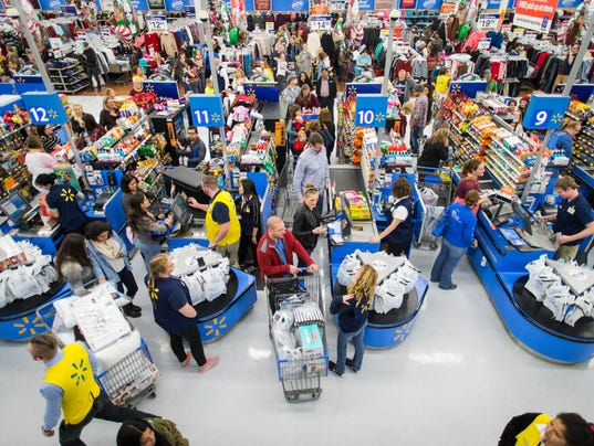 AP WALMART THANKSGIVING SHOPPING EVENTS A CPACOM USA AR