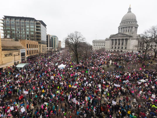 Women's March in madison