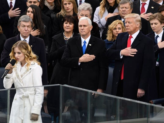 USP NEWS: PRESIDENTIAL INAUGURATION A ELN USA DC