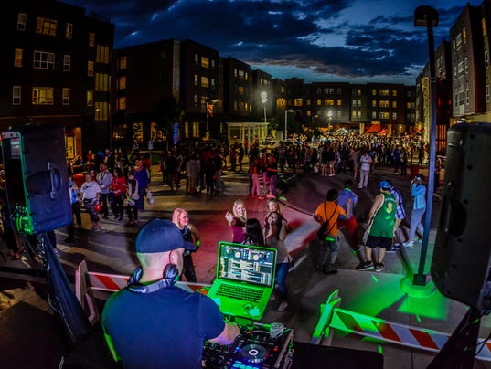 Fall Block Party at Coborn Plaza Apartments