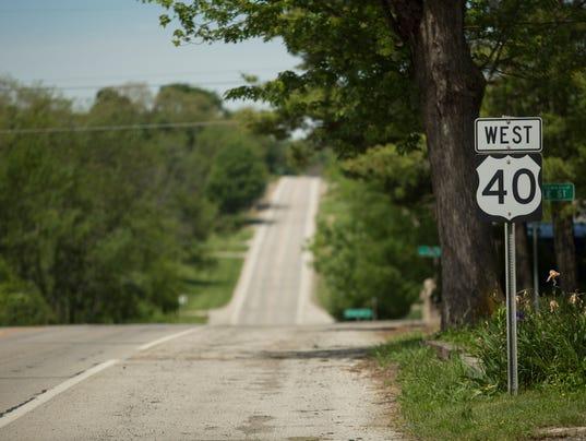 Rt 40 Near Brownsville Ohio