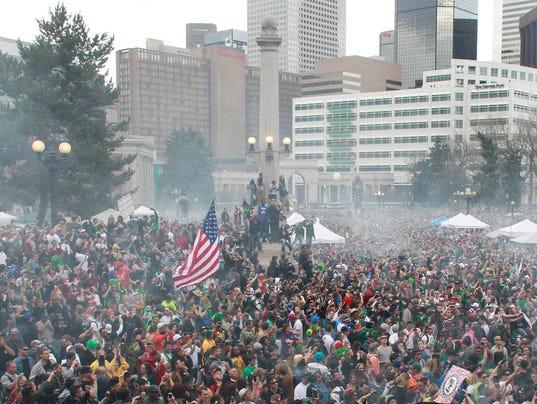 AP 4/20 Pro-Marijuana Rally
