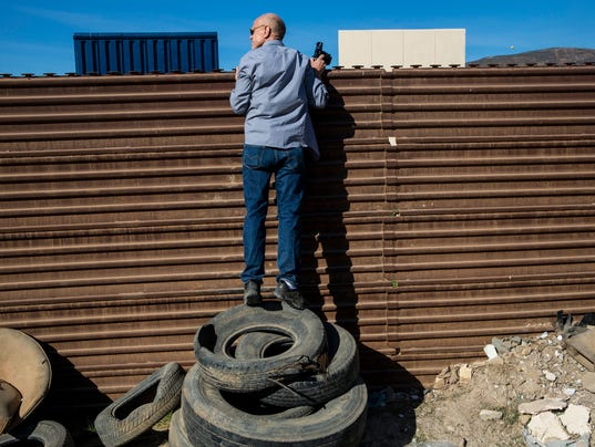 Tijuanans offer their own armchair analyses of Trump's border wall prototypes