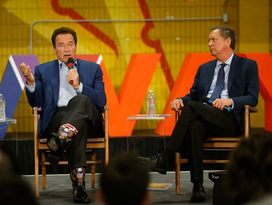 Arnold Schwarzenegger, John Kasich
