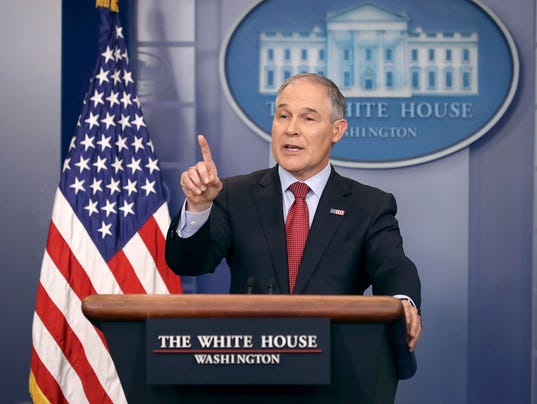 EPA Administrator Pruitt Joins Sean Spicer For Daily White House Press Briefing
