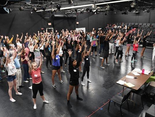 McCallum Theatre - Open Call 2018 - Jennifer Backhaus finale rehearsal