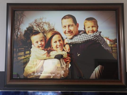 Bardstown Police Officer Jason Ellis family