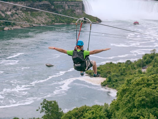 Niagara Fall and zipline