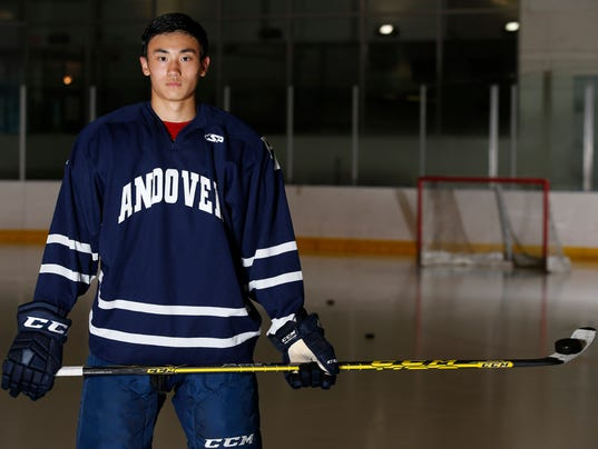 Islanders prospect Andong Song's hockey journey started in ...