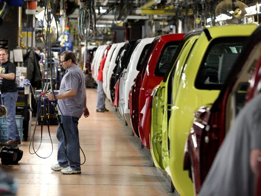 Ford gets permit for 14m upgrade at truck plant for Car city motors louisville ky