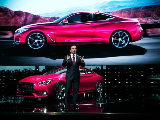 Car Makers Reveal New Models At N American International Auto Show In Detroit