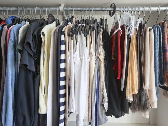 . How to organize a small closet