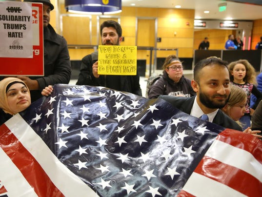 AP TRUMP REFUGEES SEATTLE A USA WA