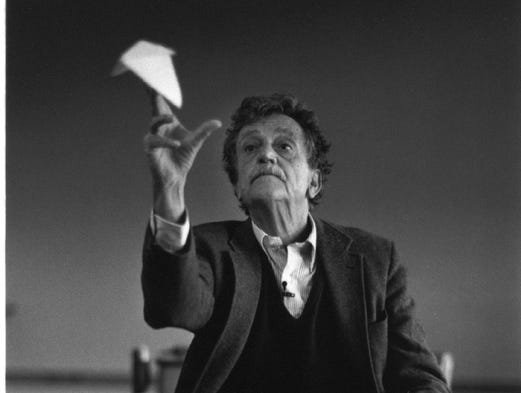 happy birthday 1951 by kurt vonnegut essay Papers, 1941-2007, of kurt vonnegut at the lilly library, indiana university,  bloomington, indiana  happy birthday, wanda june  includes  correspondence with knox burger, collier's 1951  (essay for kroch's and  brentano's).