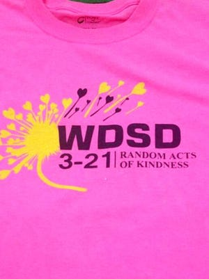T-shirts celebrating World Down Syndrome Day in Deming are now on sale with all proceeds going toward Deming Down Syndrome Families. The WDSD celebration falls on March 21 of each year. It brings awareness to the disorder in children and helps fund research and scientific advances. The shirts are $15 each and come in white, gray and hot pink. They can be purchased from students with special needs teacher Eric Olson or Rocio Reyes at Bataan Elementary School. Olson's email is: eric.olson@demingps.org. WDSD will be celebrated from 10 a.m. to 2 p.m. on Saturday, March 19, at Red Mountain Middle School.