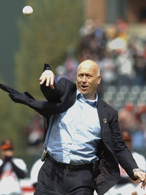 Baltimore Orioles great Cal Ripken Jr. will appear at York Catholic High School on Sunday, March 11. AP FILE PHOTO