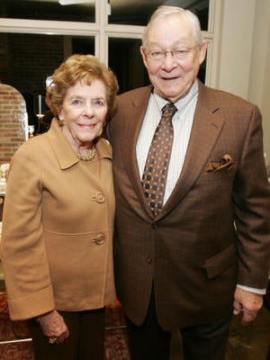 Bette Sue and Robert McNeilly in 2009.