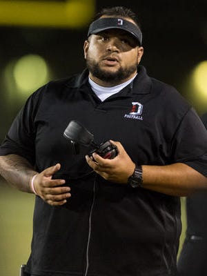 Manuel Alcantar, who led Dysart to its first state playoff appearance in 21 years two seasons ago, is being recommended to the Phoenix district board to be Cesar Chavez's next football coach.