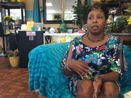 Valerie Allen at GGH Career Boutique in Fort Myers.