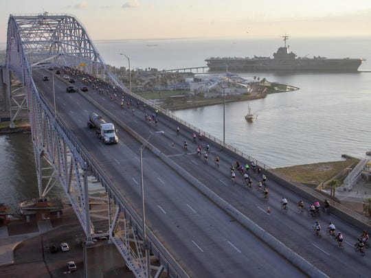 The 14th annual Conquer the Coast ride features a 65-mile trek around the bayfront.