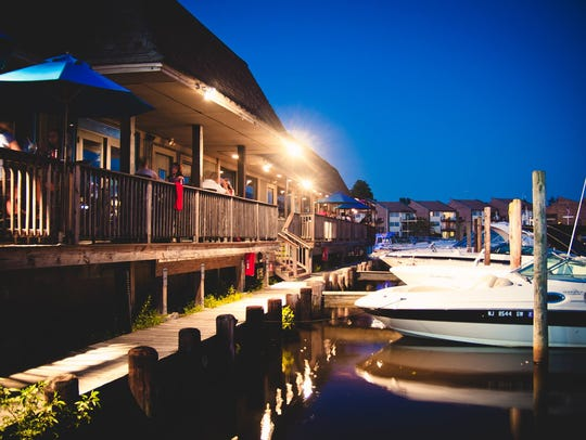 The Wharfside is on the Manasquan River.