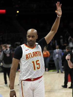 Vince Carter started his career with Toronto, then played for New Jersey, Orlando, Phoenix, Dallas, Memphis, Sacramento and spent his final two seasons with Atlanta.