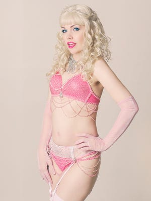 Emcee Queen April, the reigning queen of comic burlesque, will guide you through the event.