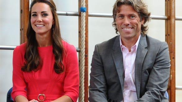 Duchess Kate and John Bishop