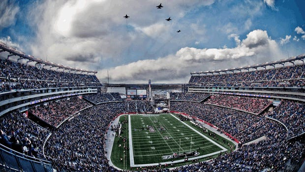 Mississippi State and UMass will play at Gillette Stadium in 2016.